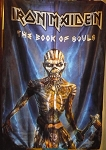 IRON MAIDEN The Book of Souls - Blue FLAG CLOTH POSTER BANNER CD