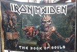 IRON MAIDEN The Book of Souls - Limited Edition CD FLAG CLOTH POSTER BANNER