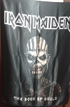IRON MAIDEN The Book of Souls CD FLAG CLOTH POSTER BANNER