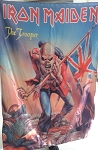 IRON MAIDEN The Trooper FLAG CLOTH POSTER BANNER CD