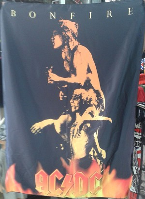 AC/DC Bonfire FLAG CLOTH POSTER WALL TAPESTRY