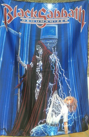 BLACK SABBATH Dehumanizer - Ozzy FLAG CLOTH POSTER WALL TAPESTRY